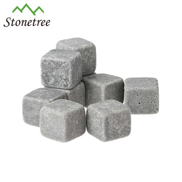 Hot selling whisky granite lava stone of ice cube